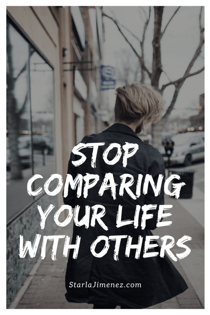 How to stop comparing yourself with others