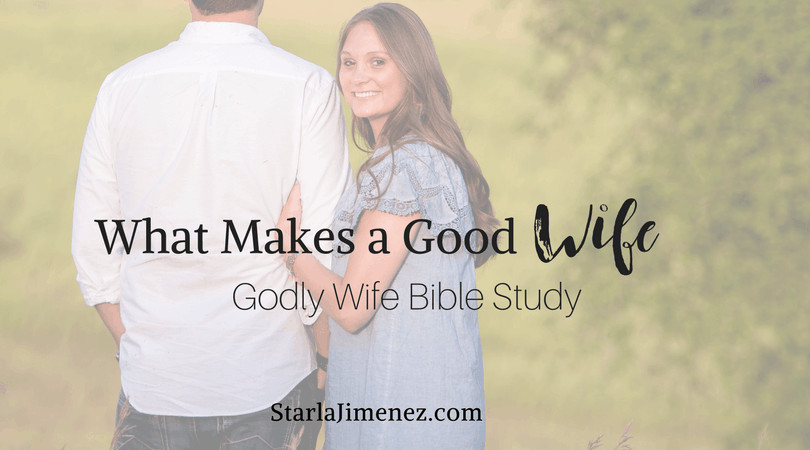 What makes a good wife?