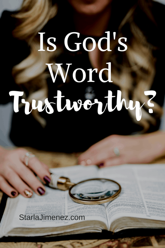God's Word is Truth | Trust in God