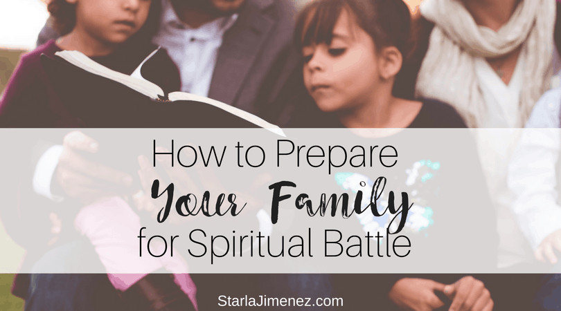 Spiritual Warfare | How to Prepare your Family for Spiritual Battle