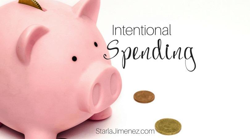 Intentional Spending
