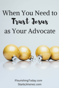 Jesus Our Advocate
