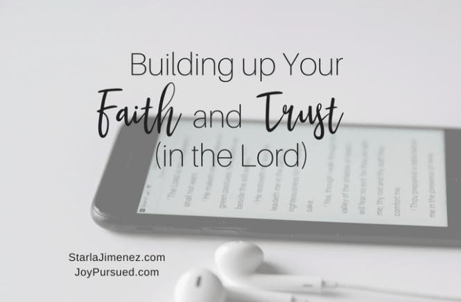 Faith and Trust in the Lord
