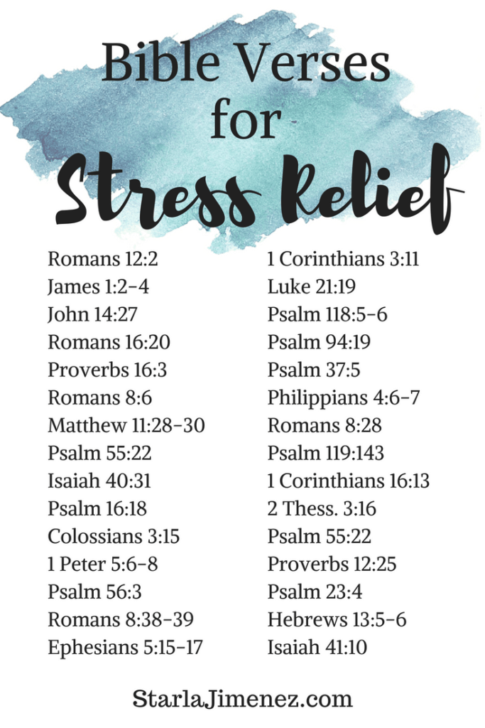 Bible Verses on Stress