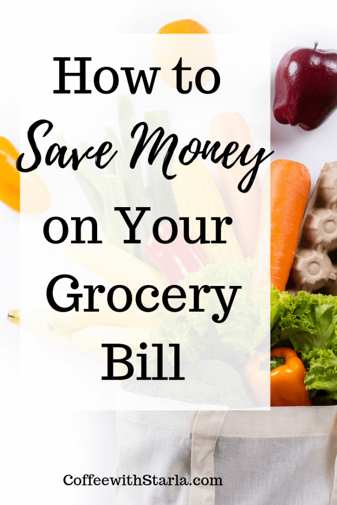 How to save money on your grocery bill, How to make a meal plan, meal plan printable, save money on food