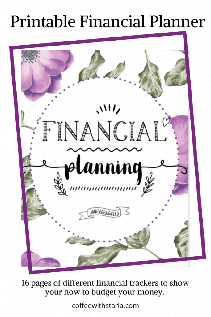 How to Budget Your Money, Printable Financial Planner, Printable Budget, Snowball Debt Tracker