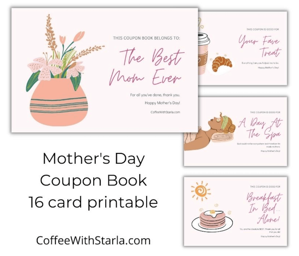 Mother's Day Coupon, mother's day prayer