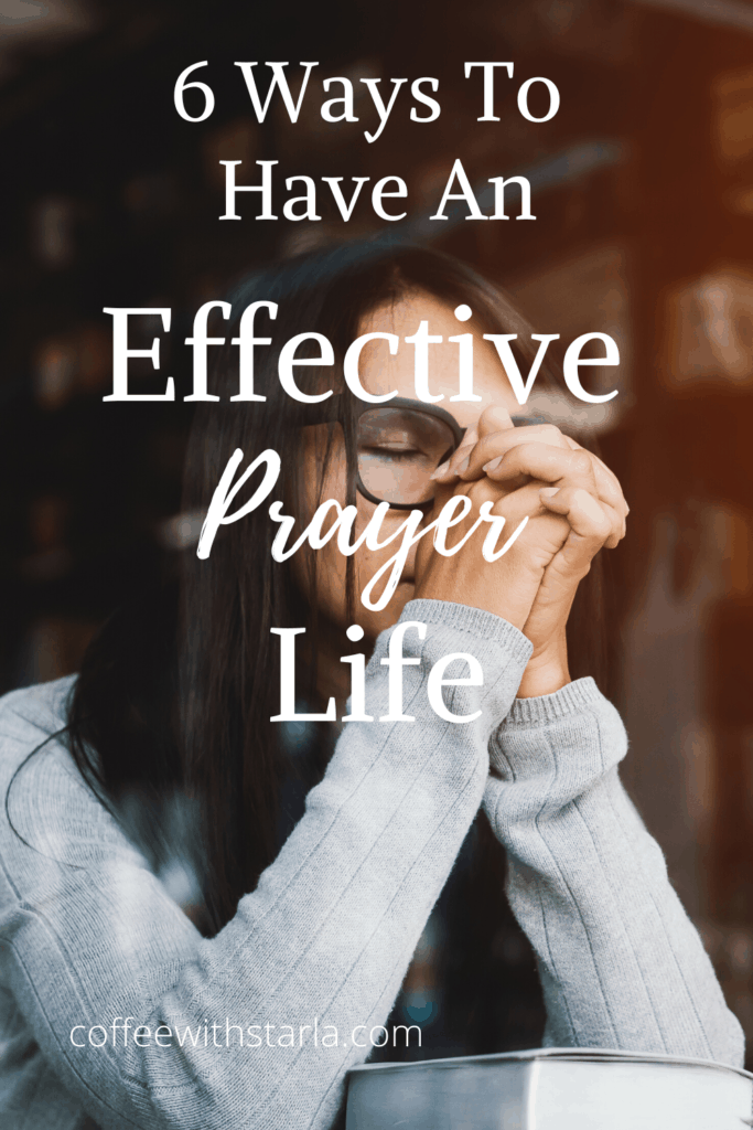 effective prayer, effective prayer life, lady sitting in coffee shop window