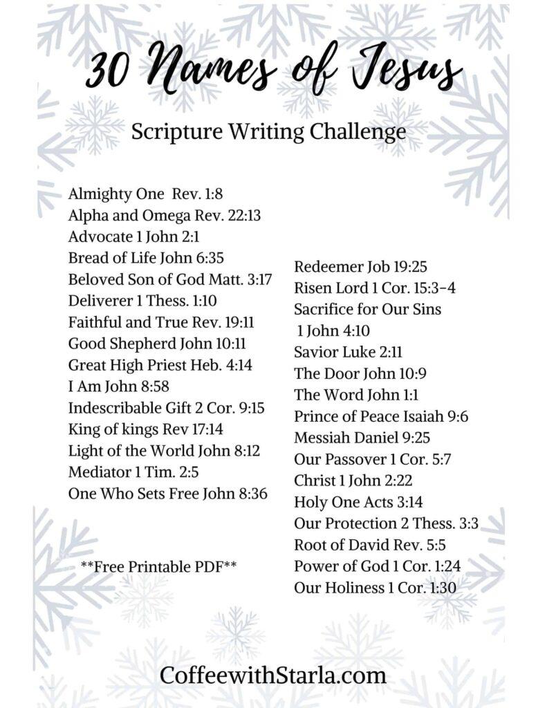 Names of Jesus pdf