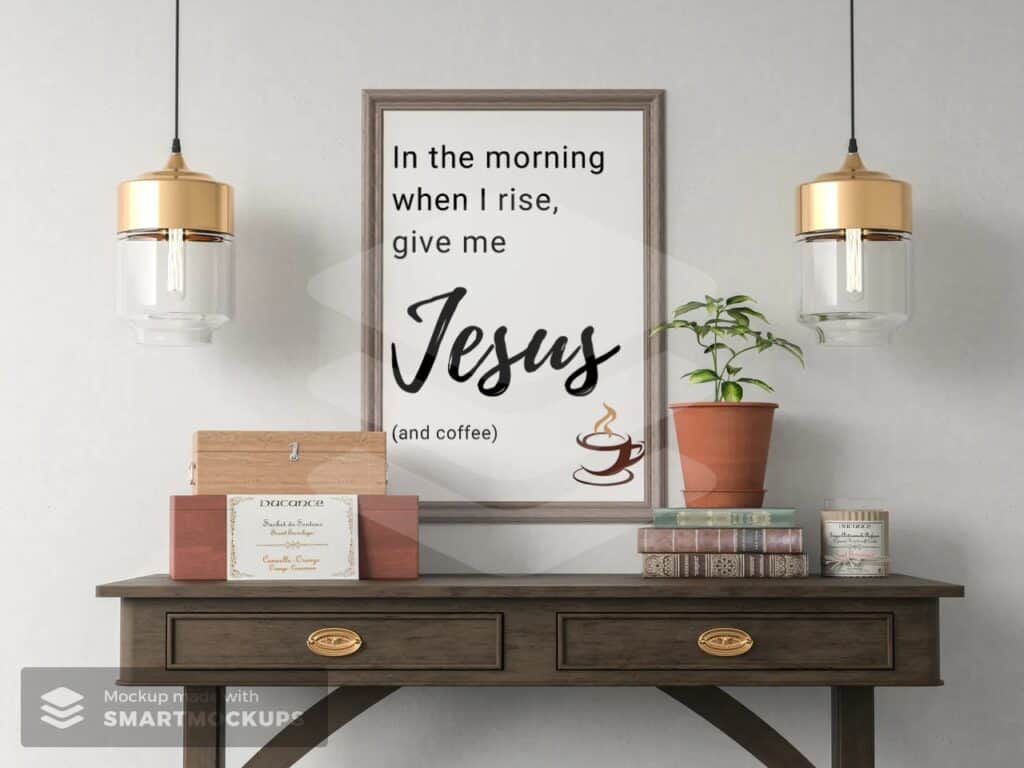 in the morning when I rise printable