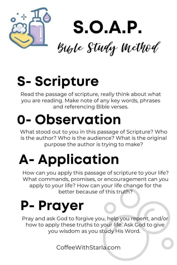 SOAP Bible Study